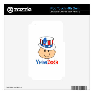 YANKEE DOODLE BABY SKIN FOR iPod TOUCH 4G