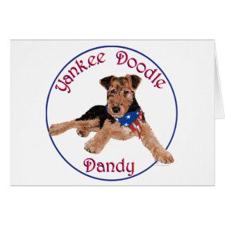 Yankee Doodle Dandy Pup Card
