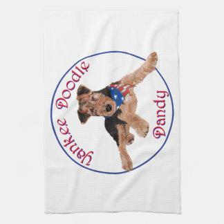 Yankee Doodle Dandy Pup Kitchen Towel