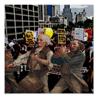 Yankee Doodle Occupy Poster