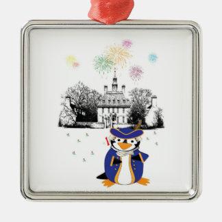 Yankee Doodle Penguin Ornament