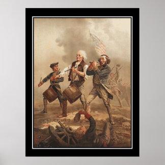 Yankee Doodle Vintage Poster