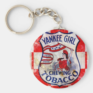 Yankee Girl Chewing Tobacco Keychain