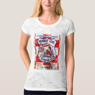 Yankee Girl Chewing Tobacco T-Shirt