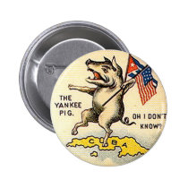 Yankee Pig - Button