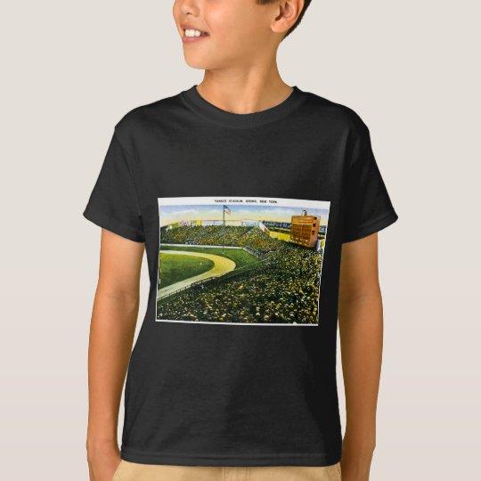 Yankee Stadium, Bronx, New York Vintage Post Card T-Shirt
