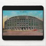 "Yankee Stadium Vintage Postcard Mousepad<br><div class=""desc"">Yankee Stadium Vintage Postcard Mousepad</div>"