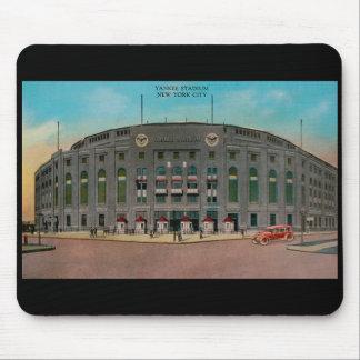 Yankee Stadium Vintage Postcard Mousepad