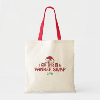 Yankee Swap Gift Budget Tote Bag