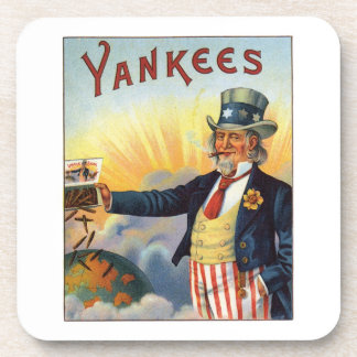 Yankees Cigar Label Drink Coasters
