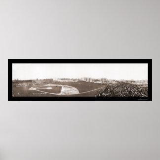 Yankees vs Senators Photo 1910 Poster