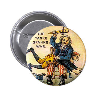 Yanko Spanko - botón Pin Redondo De 2 Pulgadas