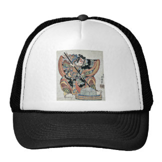 Yanone goro by Torii, Kiyomitsu II Ukiyoe Trucker Hat