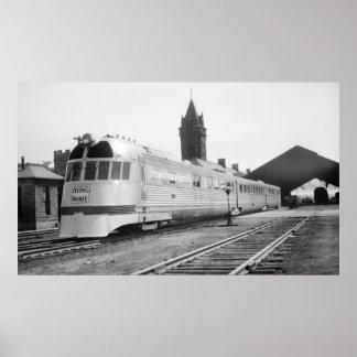 Yanqui en Portland, YO del vuelo estación 1937 de  Impresiones