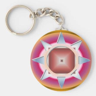 YANTRA 1.gif Basic Round Button Keychain