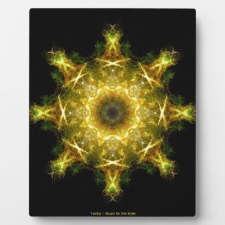 Yantra - Music for the Eyes Plaque