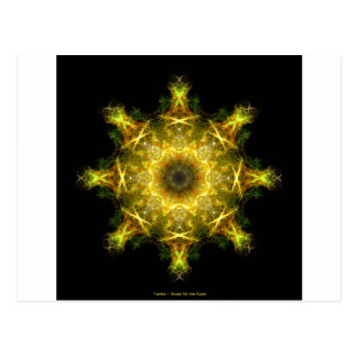 Yantra - Music for the Eyes Postcard