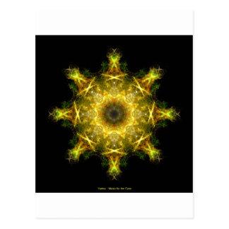 Yantra - música para los ojos tarjeta postal