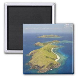 Yanuya Island, Mamanuca Islands, Fiji 2 Inch Square Magnet