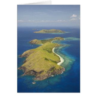 Yanuya Island, Mamanuca Islands, Fiji Card
