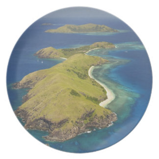 Yanuya Island, Mamanuca Islands, Fiji Dinner Plate