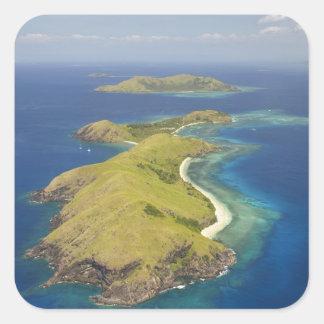 Yanuya Island, Mamanuca Islands, Fiji Square Sticker