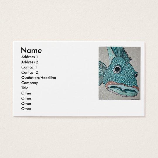 Yao Ling Cod Business Card