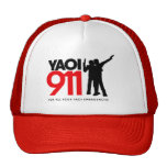 Yaoi 911 Cap Trucker Hat