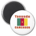 Yaounde Cameroon capital designs Magnet