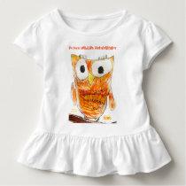 YAP | Custom Designer Owl | Youth Art Project Toddler T-shirt
