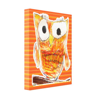 YAP | Designer Owl | Youth Art Project Canvas Print