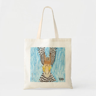 YAP   Raptor in Flight   Youth Art Project Budget Tote Bag