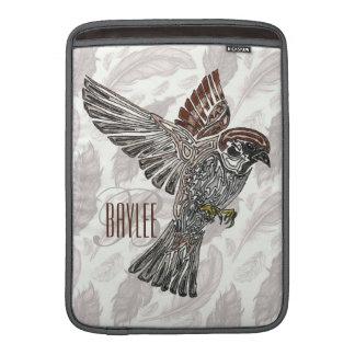 YAP | Tribal Sparrowhawk | Youth Art Project MacBook Air Sleeve