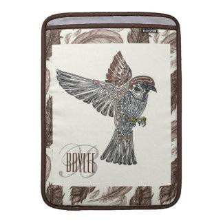 YAP | Tribal Sparrowhawk | Youth Art Project MacBook Sleeve