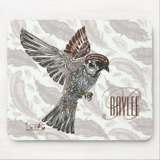 YAP | Tribal Sparrowhawk | Youth Art Project Mouse Pad