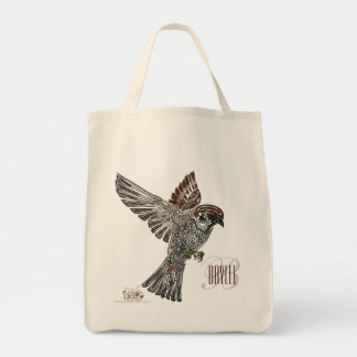 YAP   Tribal Sparrowhawk   Youth Art Project Tote Bag