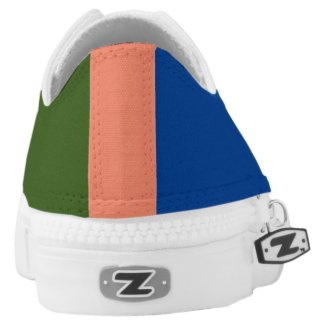 Yapdem Diaspora CAF Low-Top Sneakers