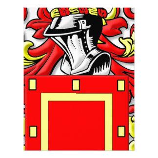 Yapp Coat of Arms Letterhead