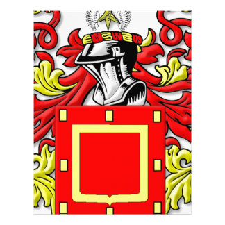 Yapp Coat of Arms Letterhead Template