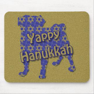 Yappy Hanukkah Mouse Pad