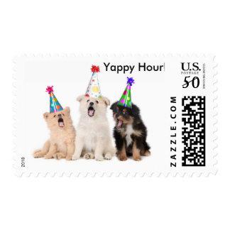 Yappy Hour Invite Postage