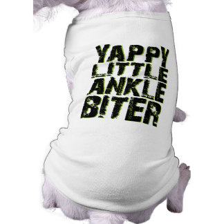 Yappy Little Ankle Biter Dog Tee