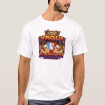 Yaqui Nation Flag Deer Dancer design T-Shirt