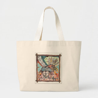 Yaqui Vision 2 (2) Jumbo Tote Bag