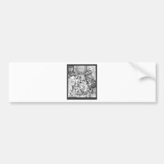 Yaqui Vision Bumper Sticker