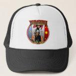 """Yaqui Yeome Deer Dancer design Trucker Hat<br><div class=""""desc"""">Yaqui Yeome Deer Dancer design</div>"""