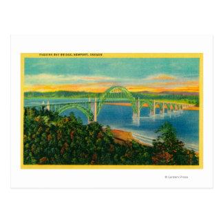Yaquina Bay BridgeNewport, OR Postcard