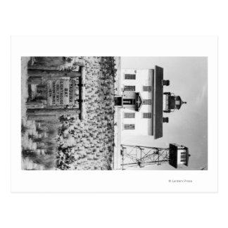 Yaquina Bay Lighthouse PhotographYaquina, OR Postcard