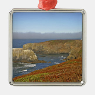 Yaquina Head Lighthouse at Newport Oregon Christmas Tree Ornament