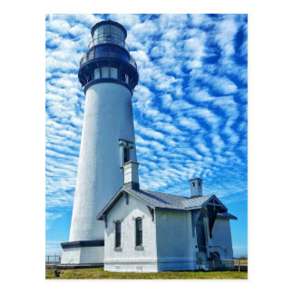 Yaquina Head Lighthouse Newport Oregon Postcard